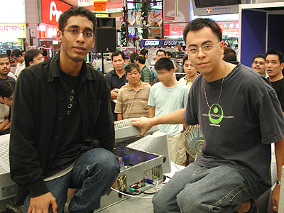 VincentV (left) and Deathgame (right).