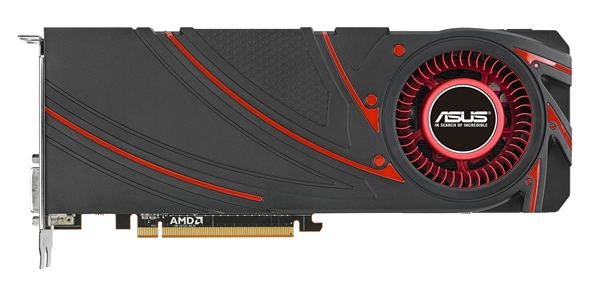 ASUS R9 290X graphics card (Image Source: ASUS)