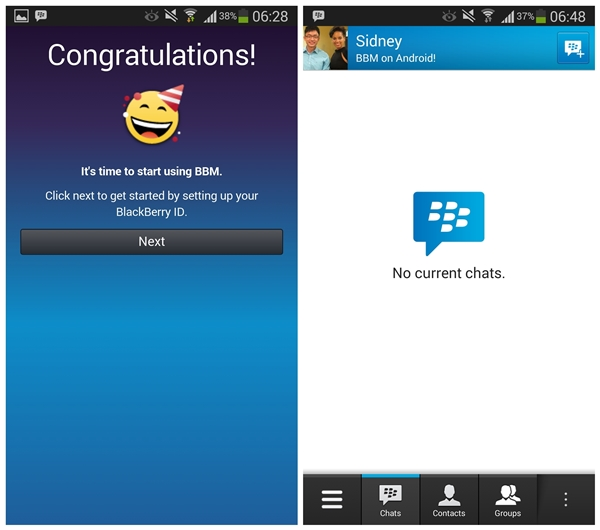 BBM for Android and iPhone is finally here!