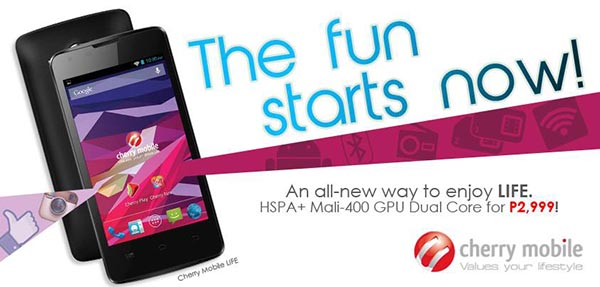 Source: Cherry Mobile Facebook page.