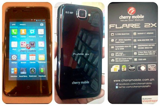 Cherry Mobile Flare2X (Source: pinoytechblog.com)