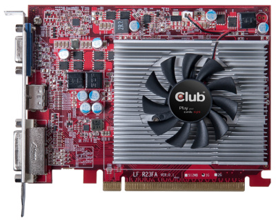 Club 3D Radeon R7 250 1GB GDDR5