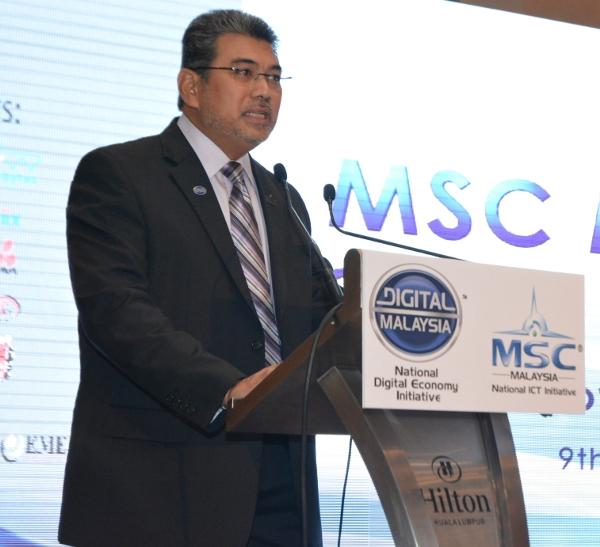 Datuk Badlisham Ghazali, CEO, MDeC