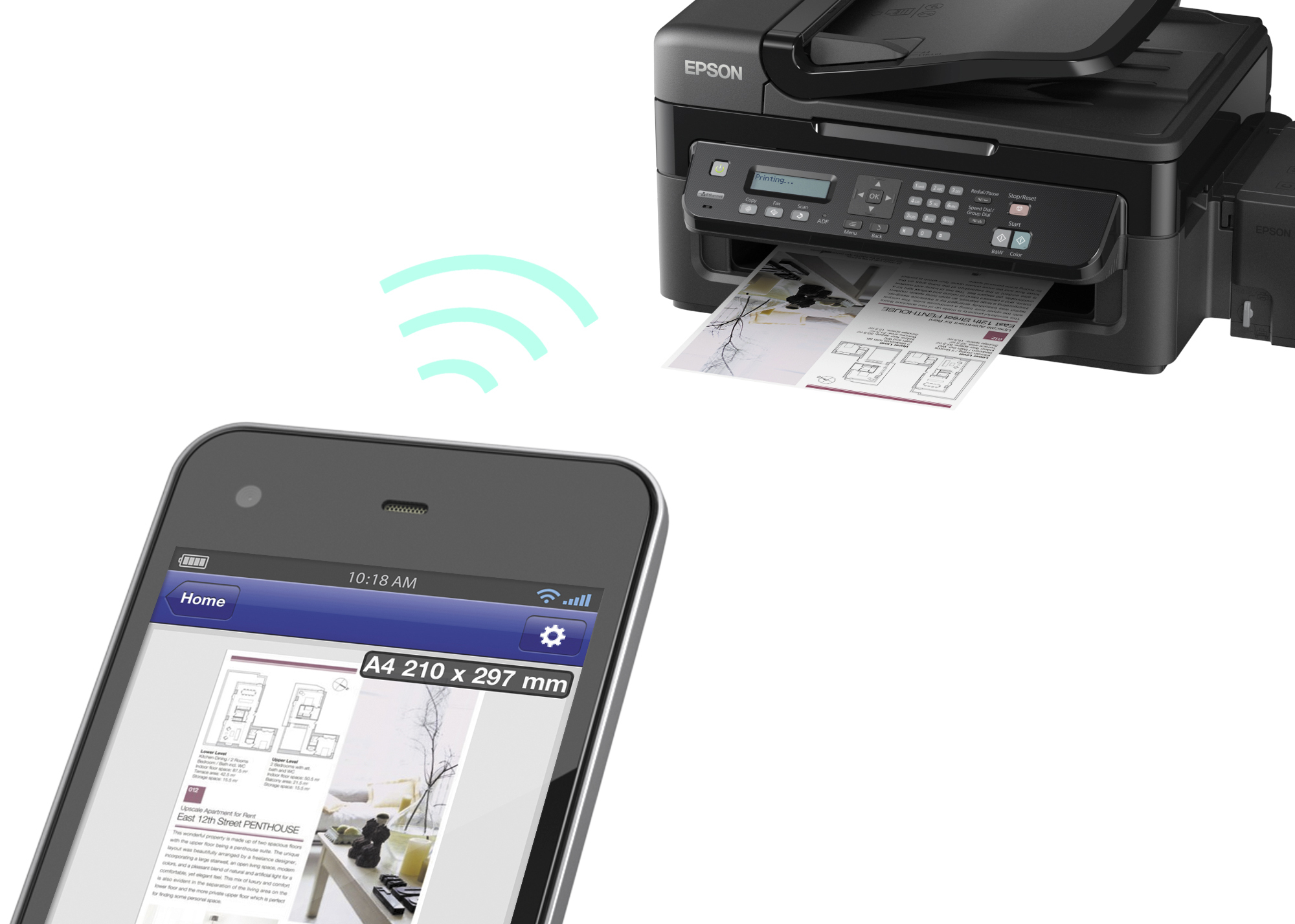 Use AirPrint to print from your iPhone, iPad, or iPod ...