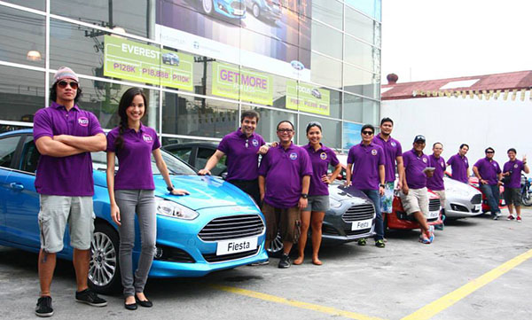 The convoy started in Ford Balintawak all the way to Pampanga, wherein the eco-drive formally kicked off.