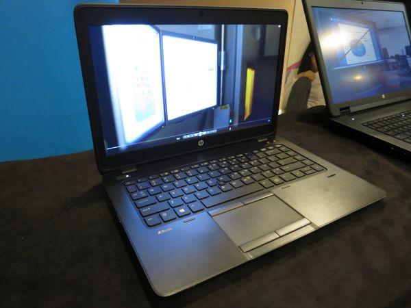 Màn hình hiển thị của HP ZBook 14 được đánh giá cao