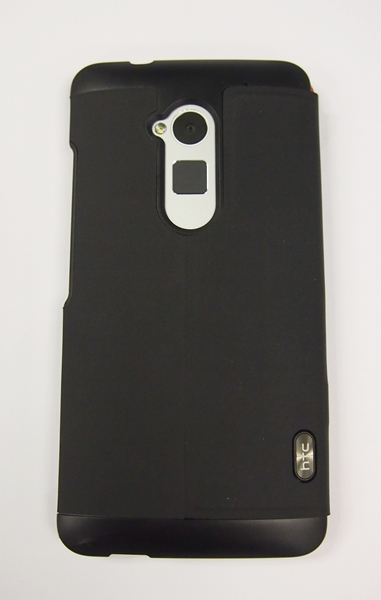 This is how the back of the Power Flip Case will look with the One Max inside.