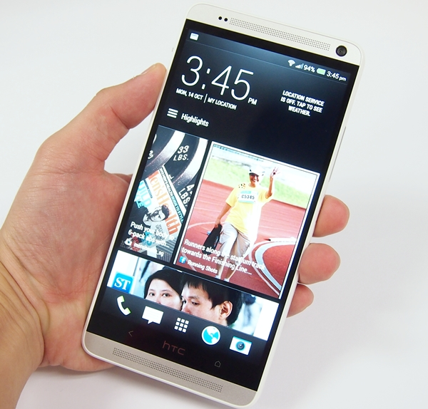 The HTC One Max