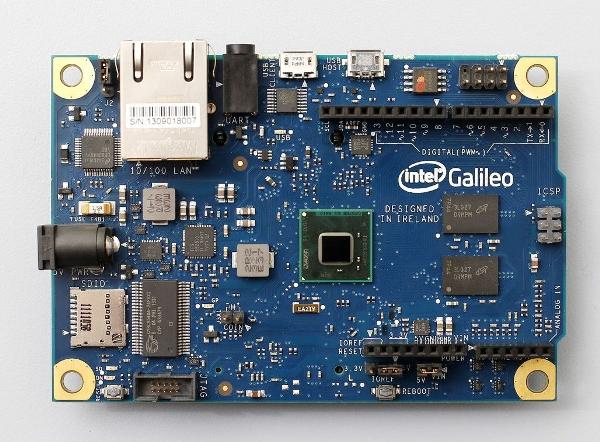 Intel's Galileo platform.