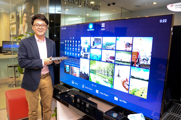 Assistant Manager, Marketing, Mobile Phone, Samsung Malaysia Electronics, Seong Hoon Yoo, conducted the media preview session yesterday