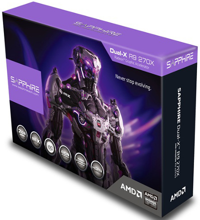 Sapphire Dual-X R9 270X 2GB GDDR5 with Boost
