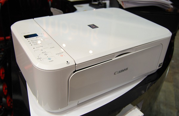 Here's the same printer in clean white - it should go well with your Mac products if you have any.