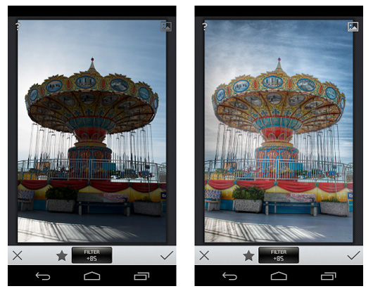 The new Snapseed HDR Scape filter adds a HDR-like look to your non-HDR photos. Image source: Google.