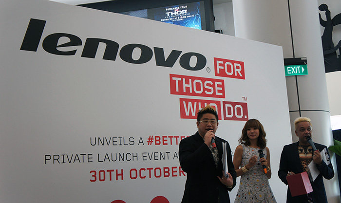 Lenovo believes there is a #betterway for tablets to be designed, and the answer is their new Yoga tablet.