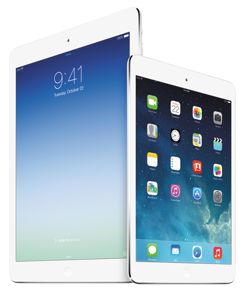 The two new Apple iPads deliver the same performance in different screen sizes. You won't go wrong with either one.