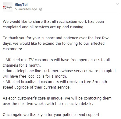 Image Source: SingTel Facebook.