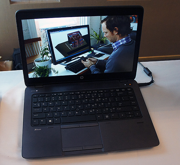 The ZBook 14 is touted by HP as the first workstation-class ultrabook. It features AMD FirePro graphics, which is sought after by professionals using specialized software.