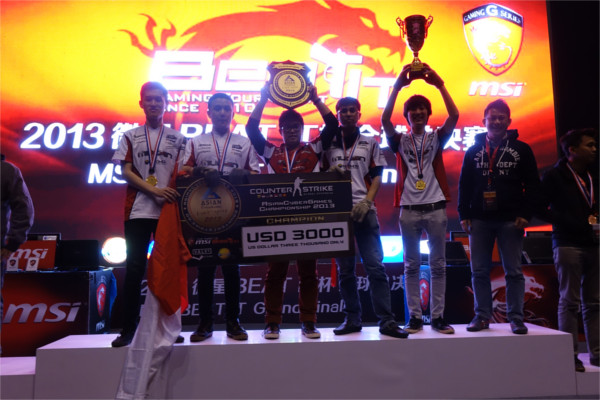 Team nxl (Indonesia) persevered to clinch the title after 14 consecutive hours of grueling combat!