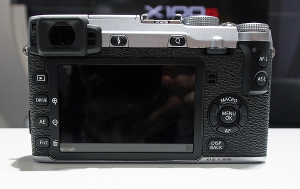 As you can see on the right of the camera's rear, the AE-L and AF-L now occupy two separate buttons.