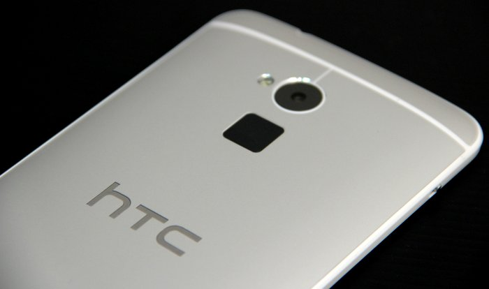 The biometric sensor on the HTC One Max is an example of a modern sensor that registers your fingerprint without having you to slide your finger across it.