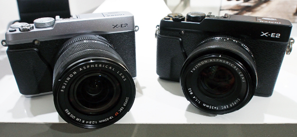 The X-E2 is available in silver and black.