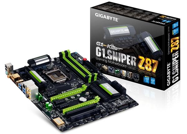 Gigabyte G1.Sniper Z87 motherboard (Image Source: Gigabyte)