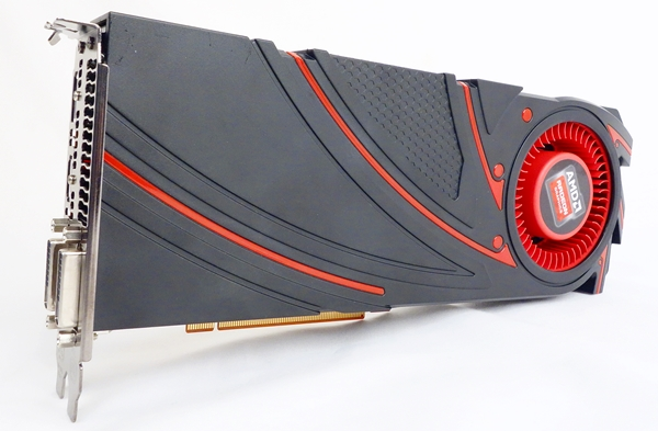 The AMD Radeon R9 290X graphics card is the top dog of the new GPU series.