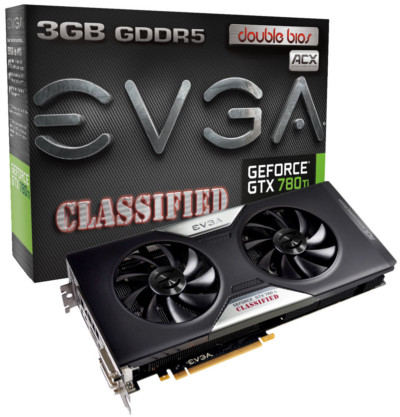EVGA GTX 780 Ti Dual Classified w/ EVGA ACX Cooler