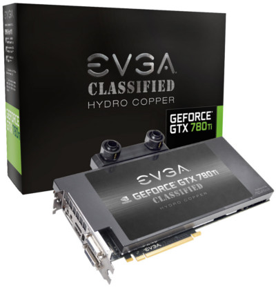 EVGA GTX 780 Ti Dual Classified w/ EVGA Hydro Copper Watercooler