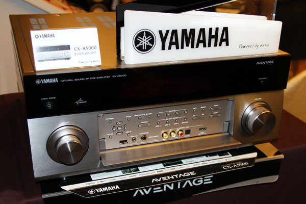 The CX-A5000 is a new pre-amplifier from Yamaha capable of handling 11.2-channel audio.