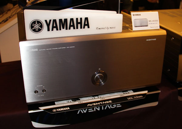 The Yamaha MX-A5000 is a beast of a power amplifier capable of handling 11 channels of audio amplification across multiple zones. It can also co-work with an additional MX-A5000 to power up more audio channels to control more complicated zone management or audio setups.