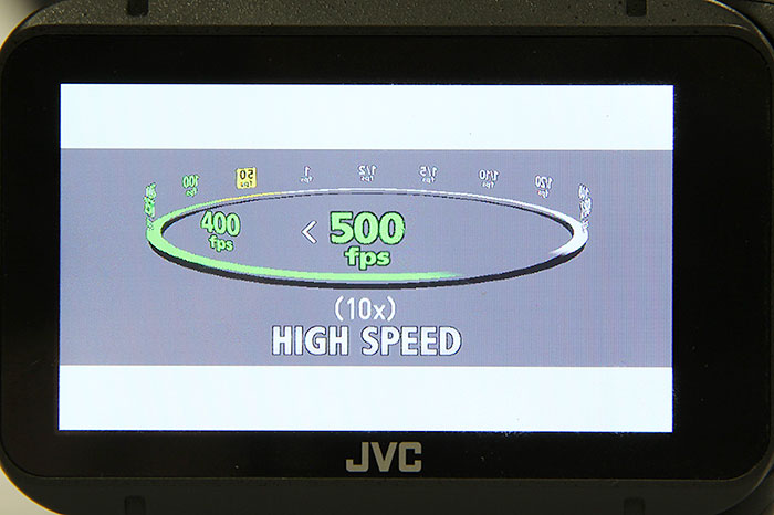 500fps high-speed shooting sounds impressive, but would you use it?