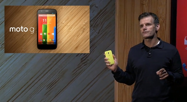 Motorola believes the Moto G is the smartphone choice for the next 500 million consumers.