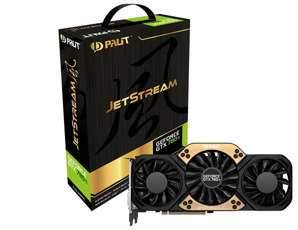 The Palit GeForce GTX 780 Ti 3GB GDDR5 graphics card. (Image Source: Palit)