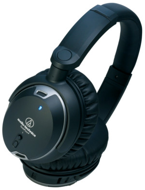 Audio Technica QuietPoint ATH-ANC9 Active Noise Cancelling Heaphones