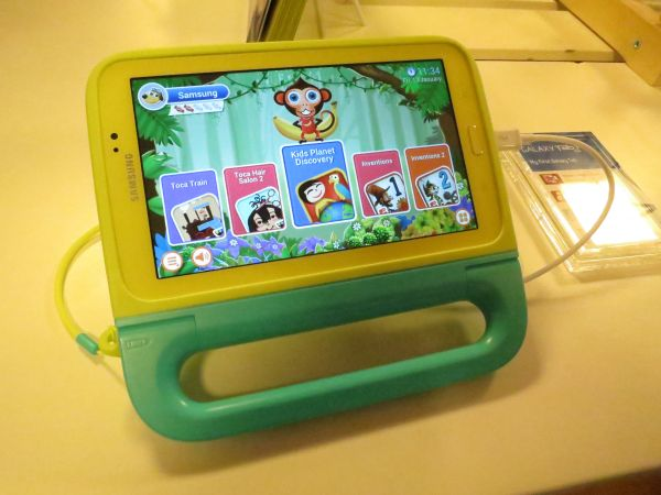 samsung launches 7 inch tablet for kids. Black Bedroom Furniture Sets. Home Design Ideas