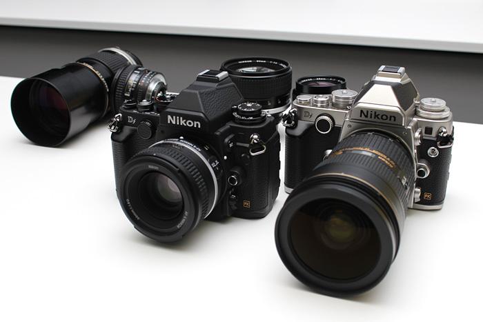 Hands-on with the Nikon Df, Nikon\'s Retro-Inspired Full-frame DSLR ...