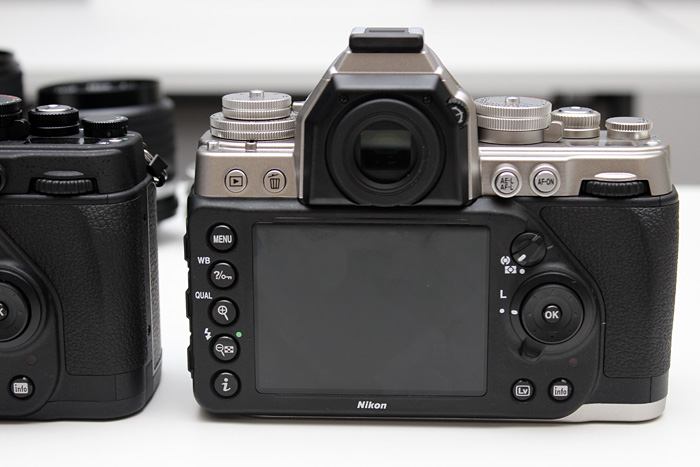 The optical viewfinder is large and luxurious, just as you'd expect from a full-frame DSLR.