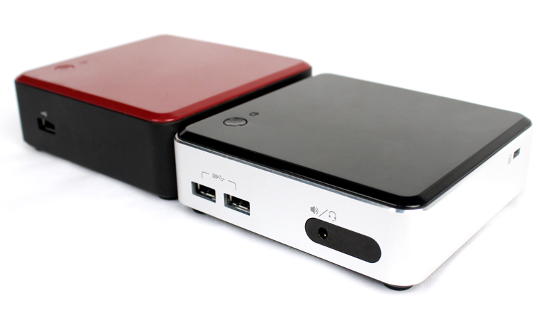 The newer, shinier Haswell-equipped Intel NUC kit offers more performance in an even smaller package.