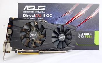 ASUS GeForce GTX 780 Ti DirectCU II OC 3GB GDDR5