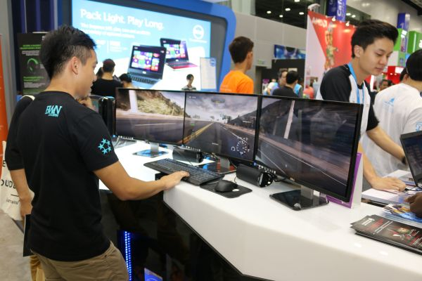 Dell had their own set up too, though not as intricate as MSI's set up.