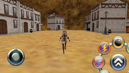 A screenshot from the Floatland game title, which was developed on Soft Gear's Graphyte 3D game engine. (Image Source: Soft Gear)