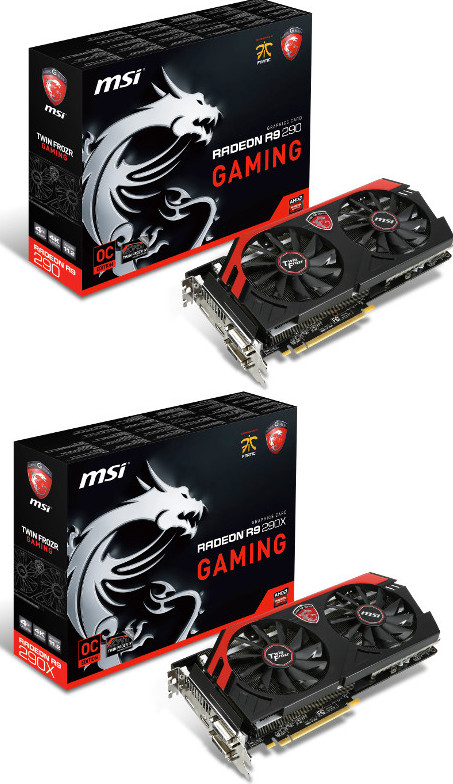 MSI Introduces R9 290 & R9 290X Gaming 4G Graphics Cards
