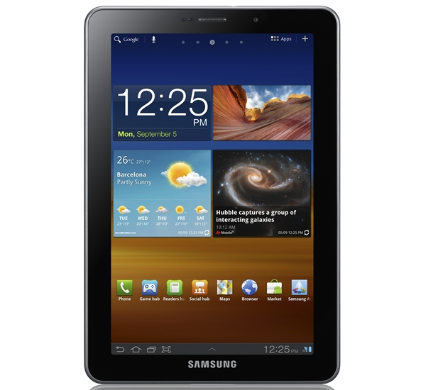 The Galaxy Tab 7.7 is the first and only tablet from Samsung to come with an AMOLED display.
