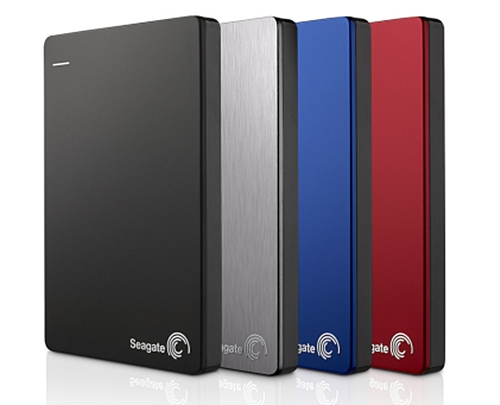 The Seagate Backup Plus Slim. (Image Source: Seagate)