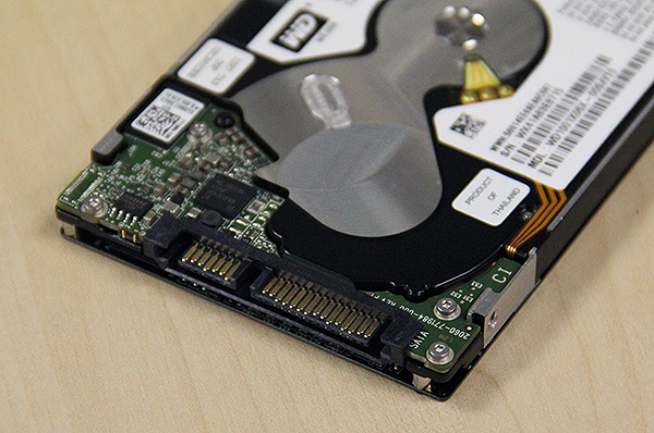 It goes without saying that the WD Black2 supports the latest SATA 6Gbps interface.