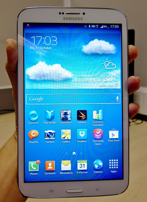 samsung galaxy tab 3 8 0 lte a phablet in disguise. Black Bedroom Furniture Sets. Home Design Ideas