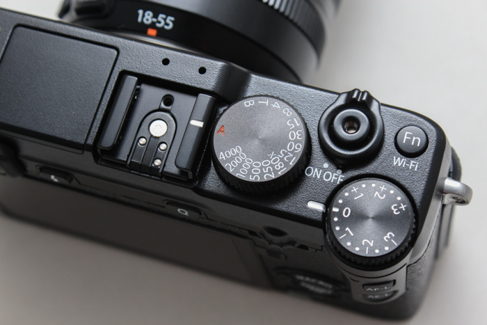 Manual shooters will appreciate how exposure settings are laid out as hardware dials.