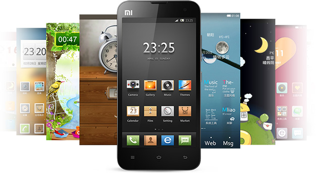 The MIUI ROM, made by Xiaomi.
