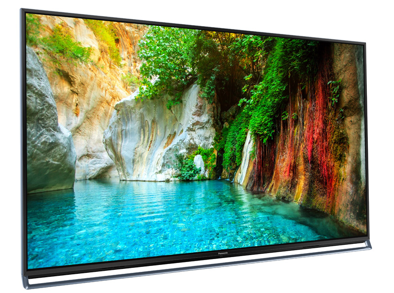 Panasonic's TC-AX800U 4K TV claims to offer plasma-level quality with LED technology.